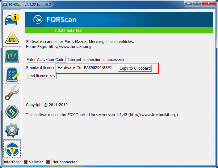FORScan forum - Generate Extended License
